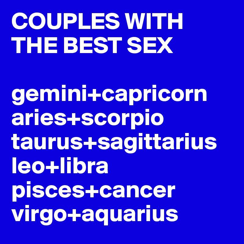 capricorn sex gemini