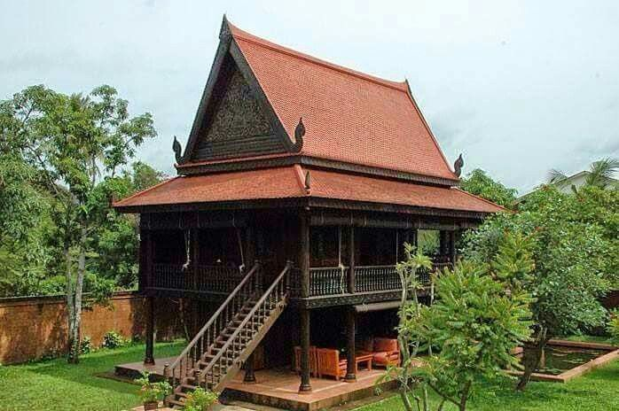 house roof asian design