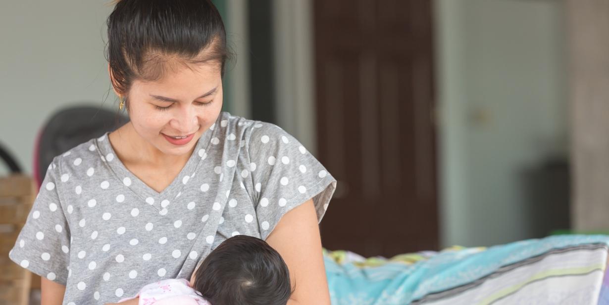 pregnant breast milky photo lactating
