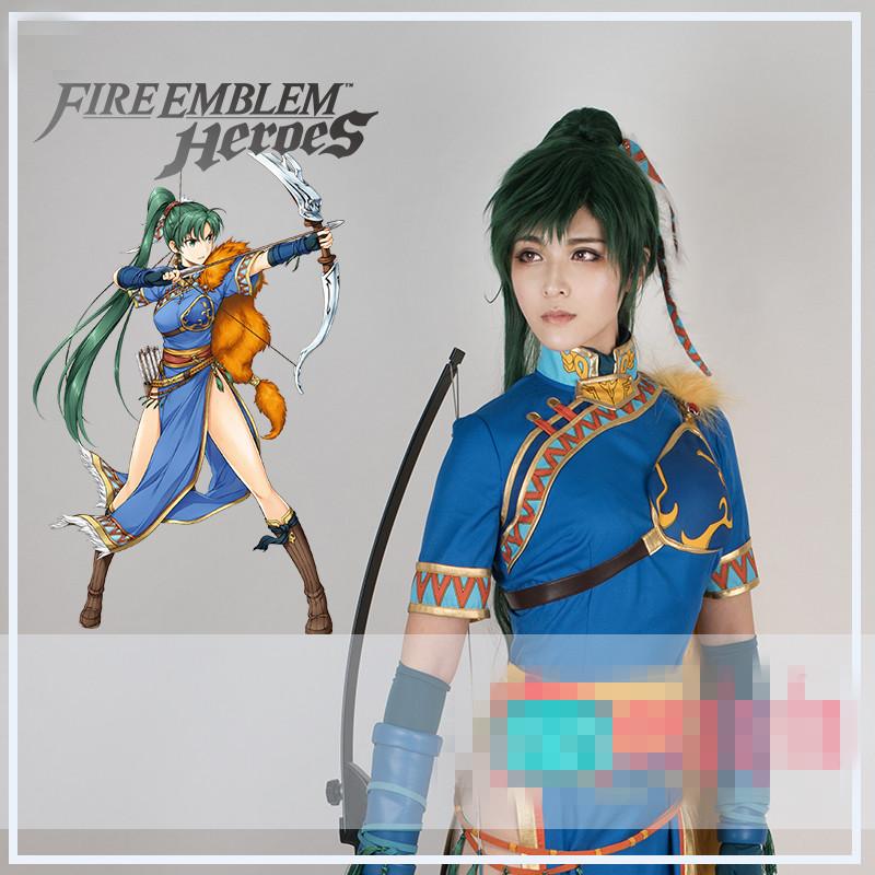 fire cosplay emblem lyn