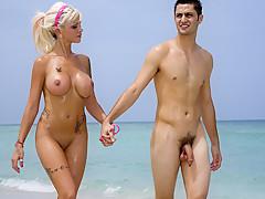 the nude on girls beach