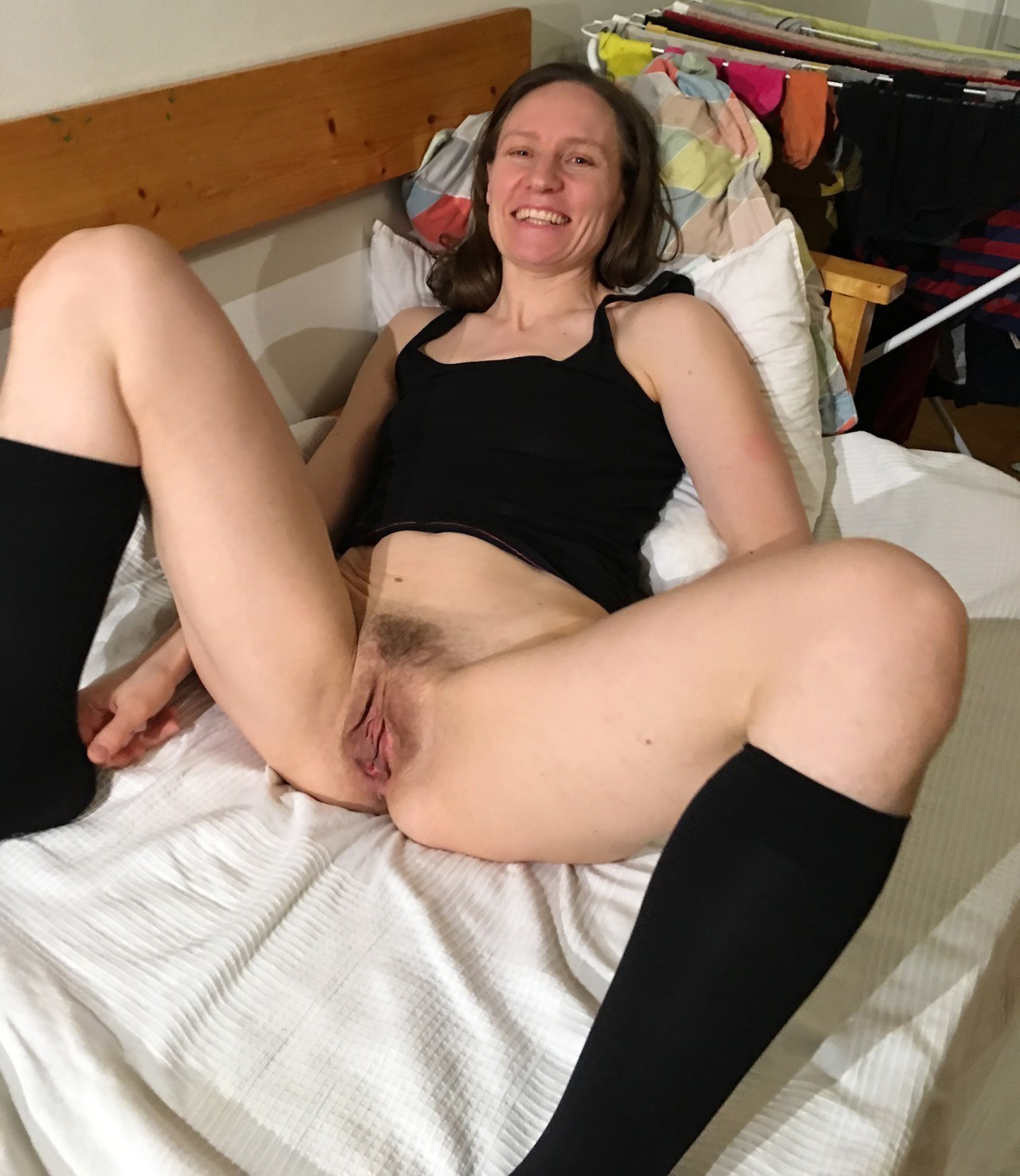 with pussy hairy woman