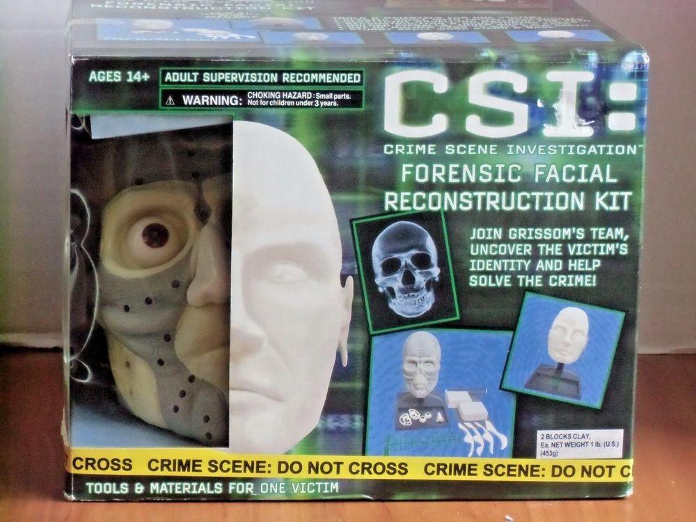 facial forensic reconstruction csi kit