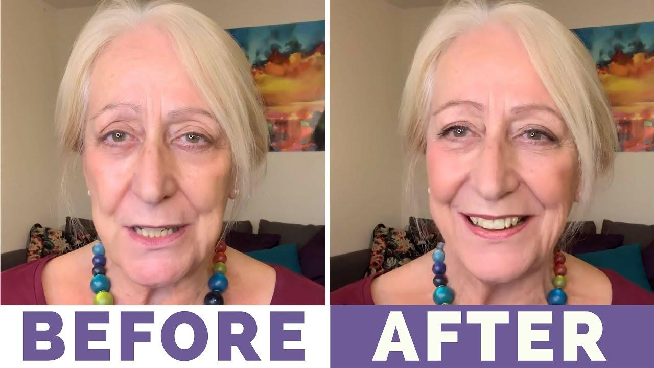 mature bare for minerals skin