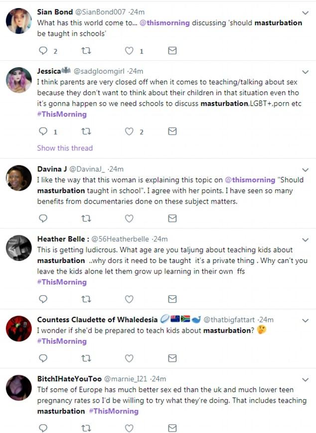 teaching about masturbation