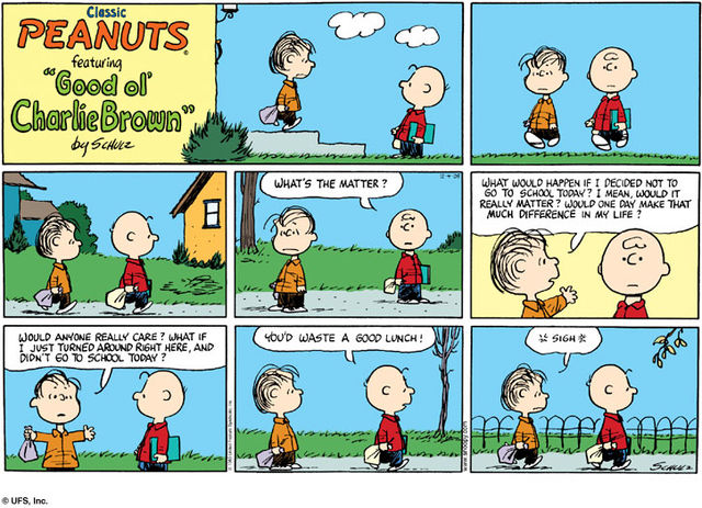 comic the day strips by