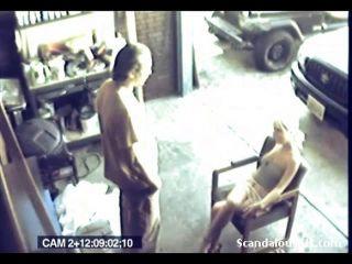 sex on webcam caught