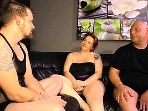threesome swallow free porn mature