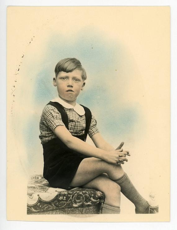 vintage tinted photo hand