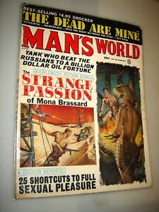 magazine world man vintage s