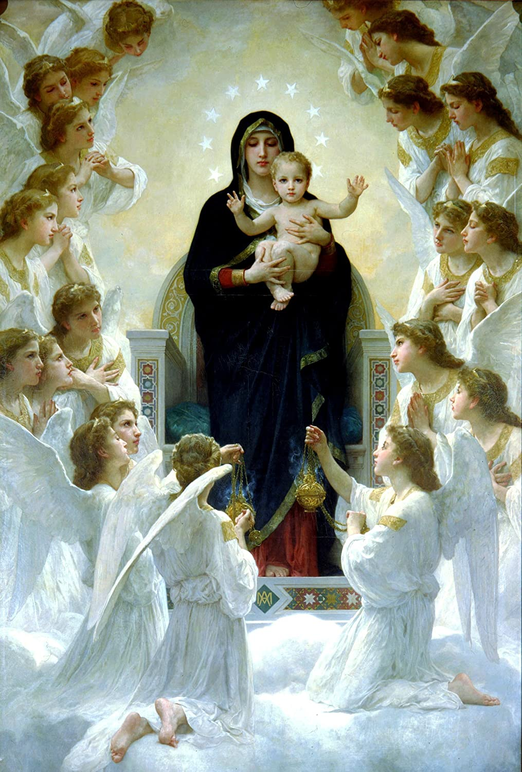 mary virgin it let angel be
