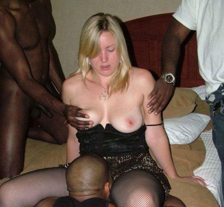 interracial amateur couple white
