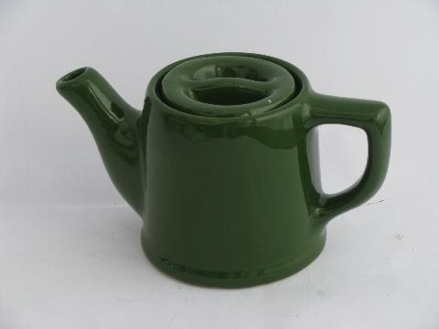 pot green tea vintage