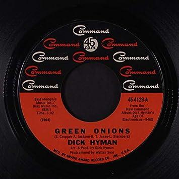 green dick hyman onions