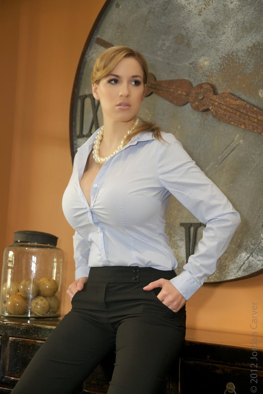office boobs in