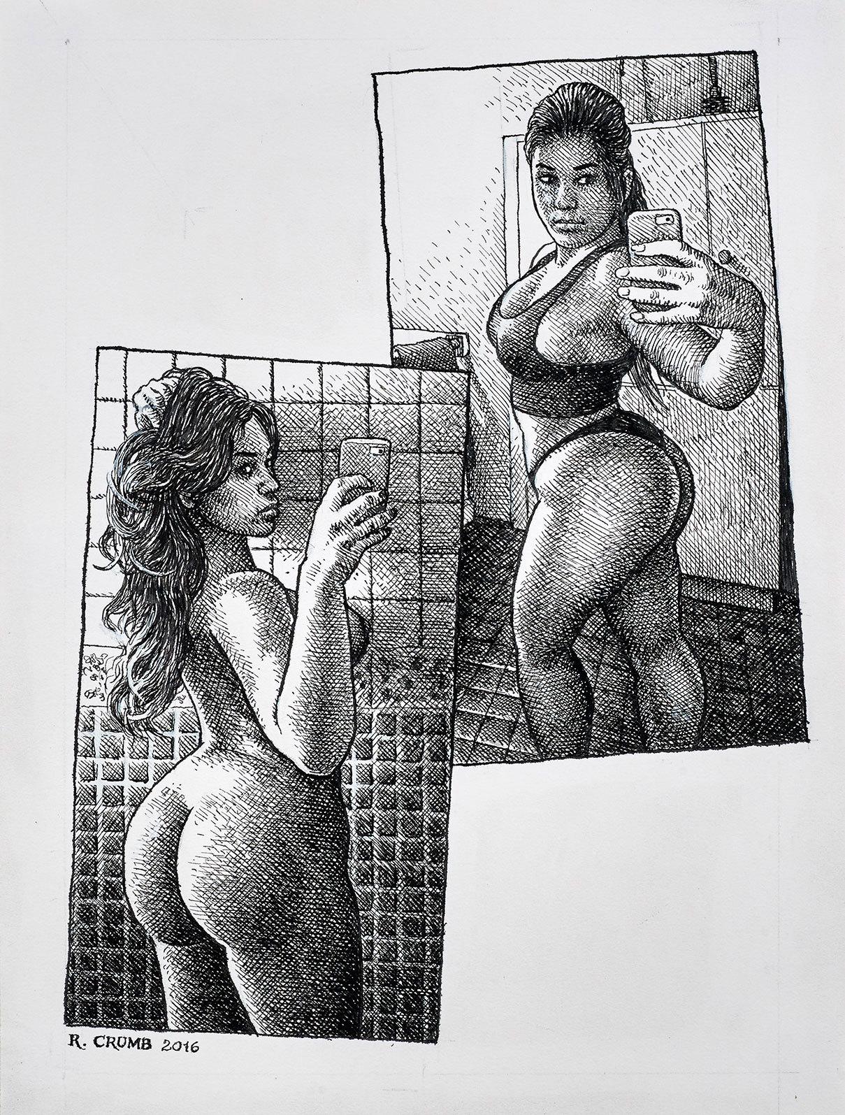 cartoon erotic art drawings