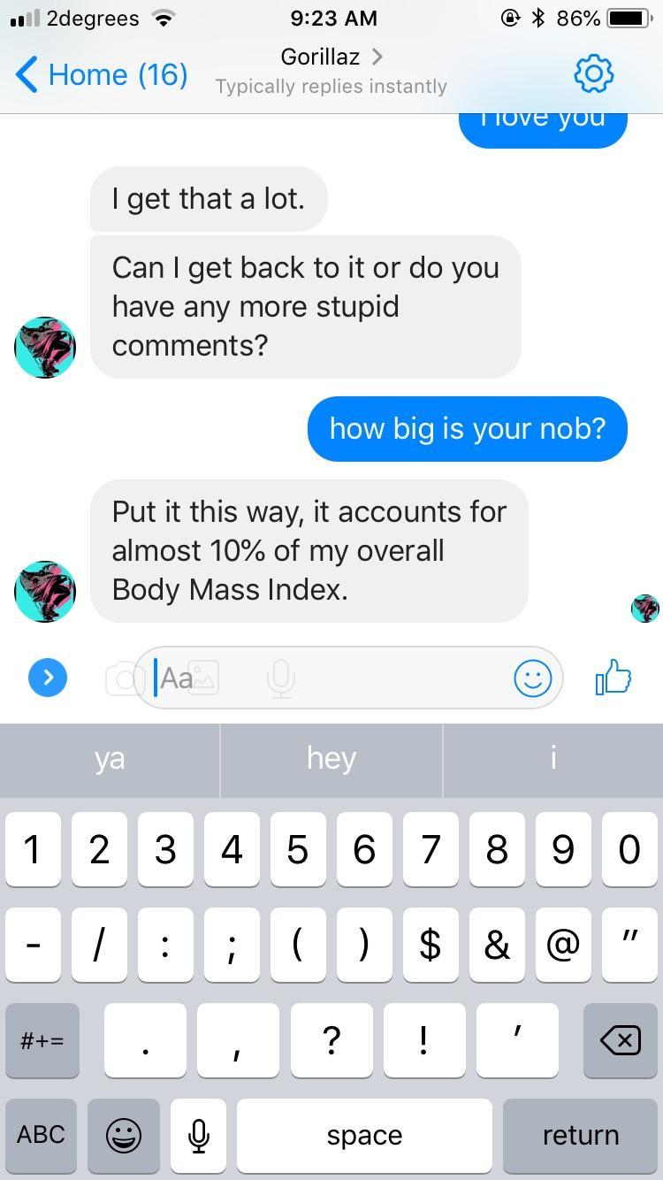 my of dick index