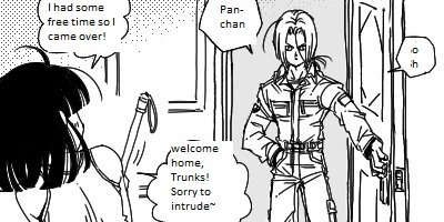 trunks fanfiction and pan