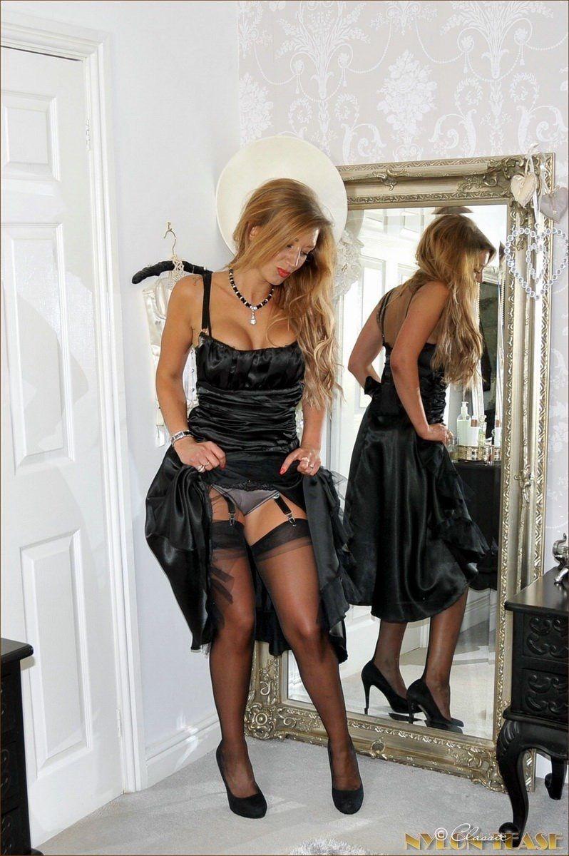 stocking tgp black