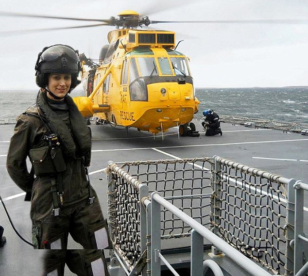 helicopter pilot woman breast picture