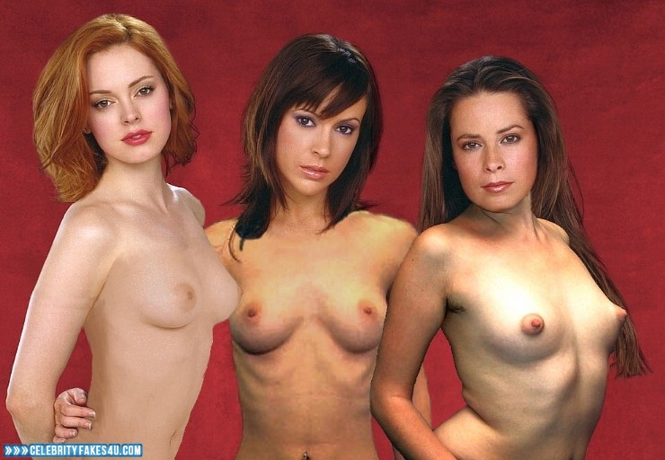 charmed stars nude