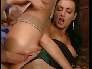 off tits licking cum husband
