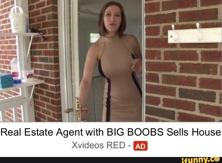 agent real estate big tits