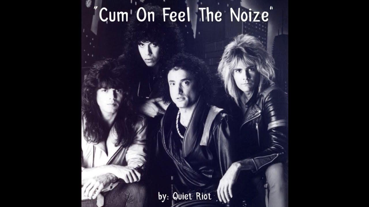 cum hair and feel