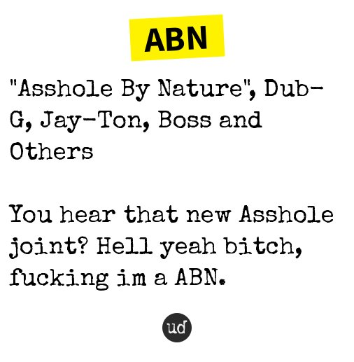 nature abn by asshole