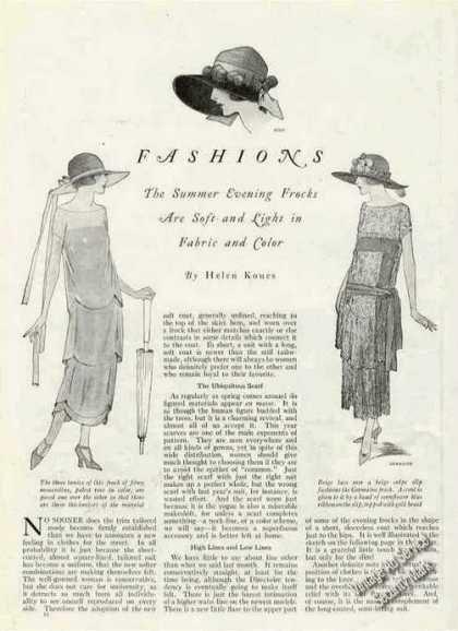 vintage fashion articles