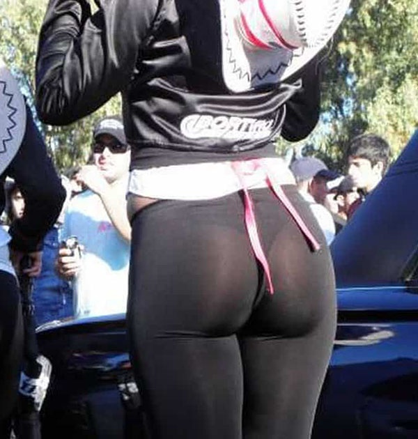 through public pants in yoga see