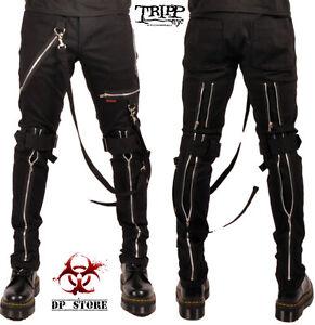 goth bondage pants