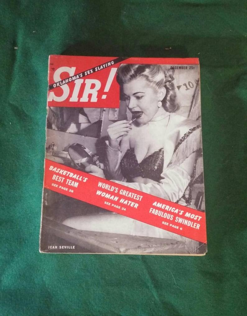 magazine world s man vintage