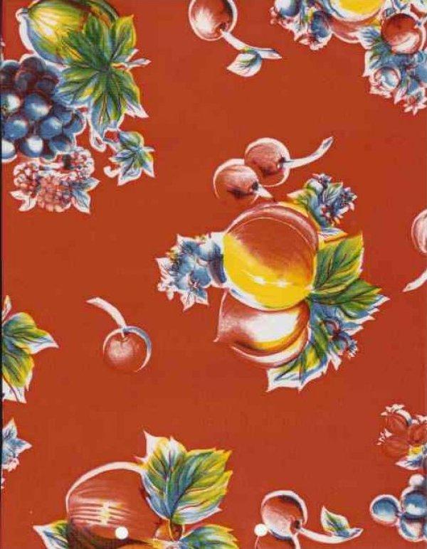 asian print oilcloth