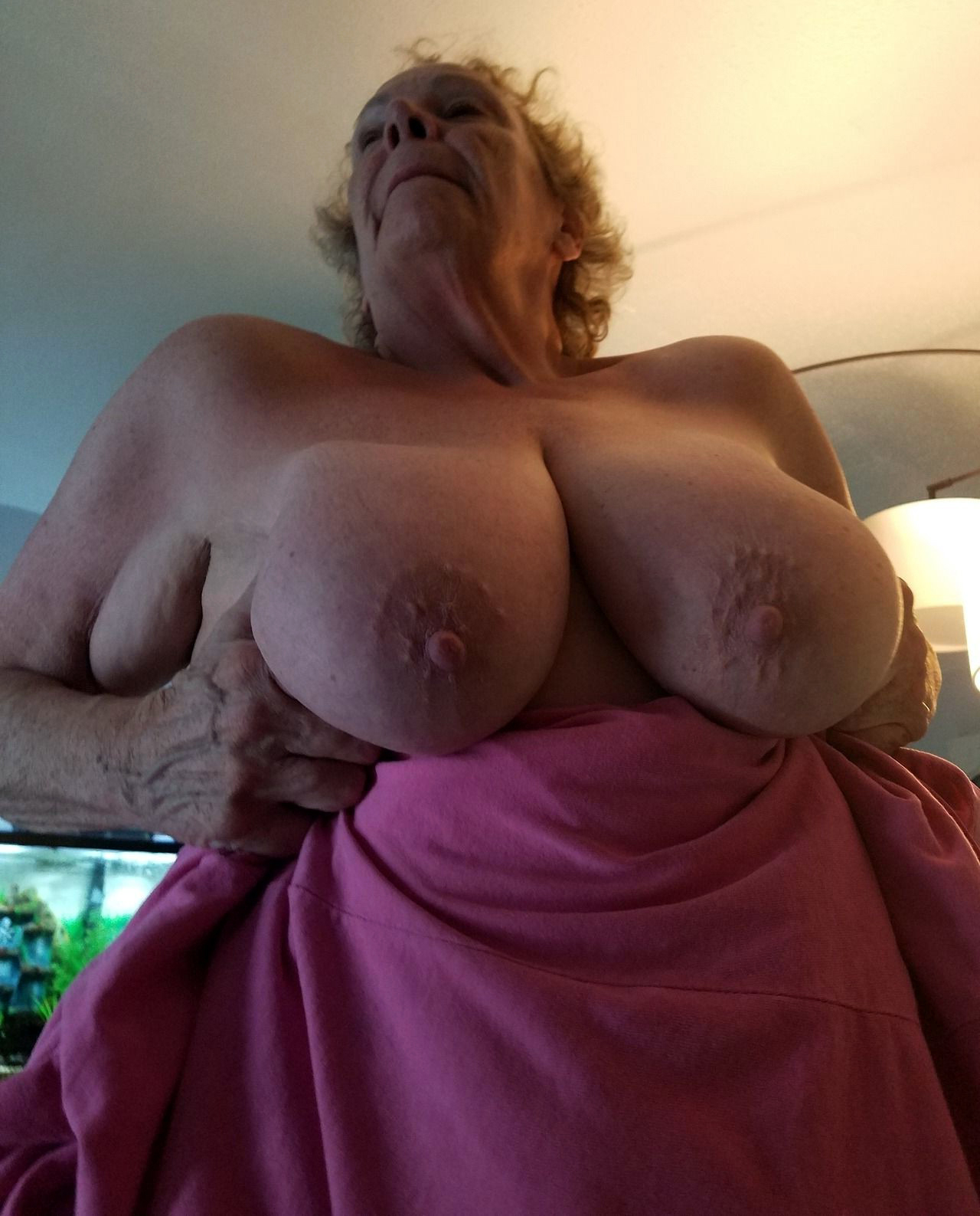 with tits floppy grannies