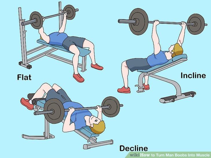 man boob chest exercises