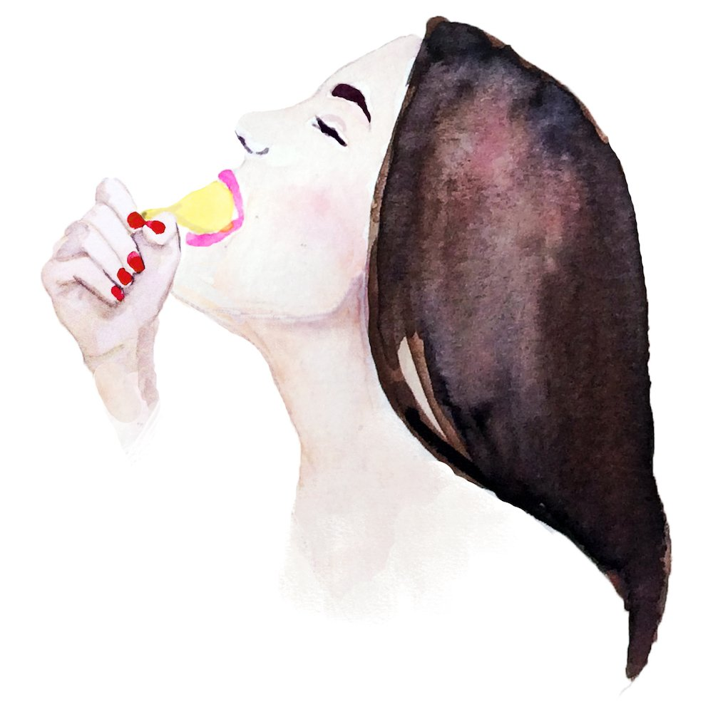 wife no gag deep throat