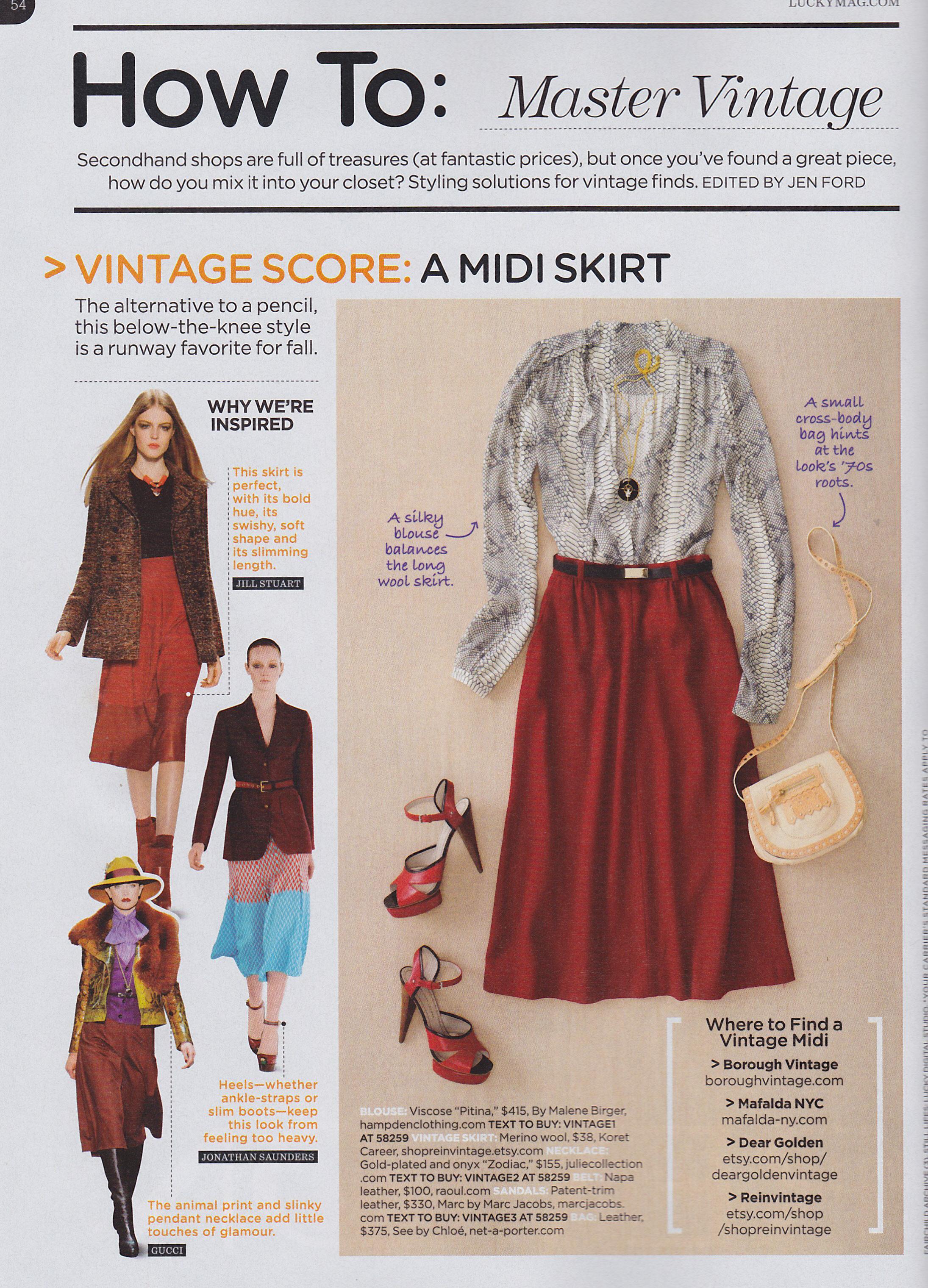 articles vintage fashion