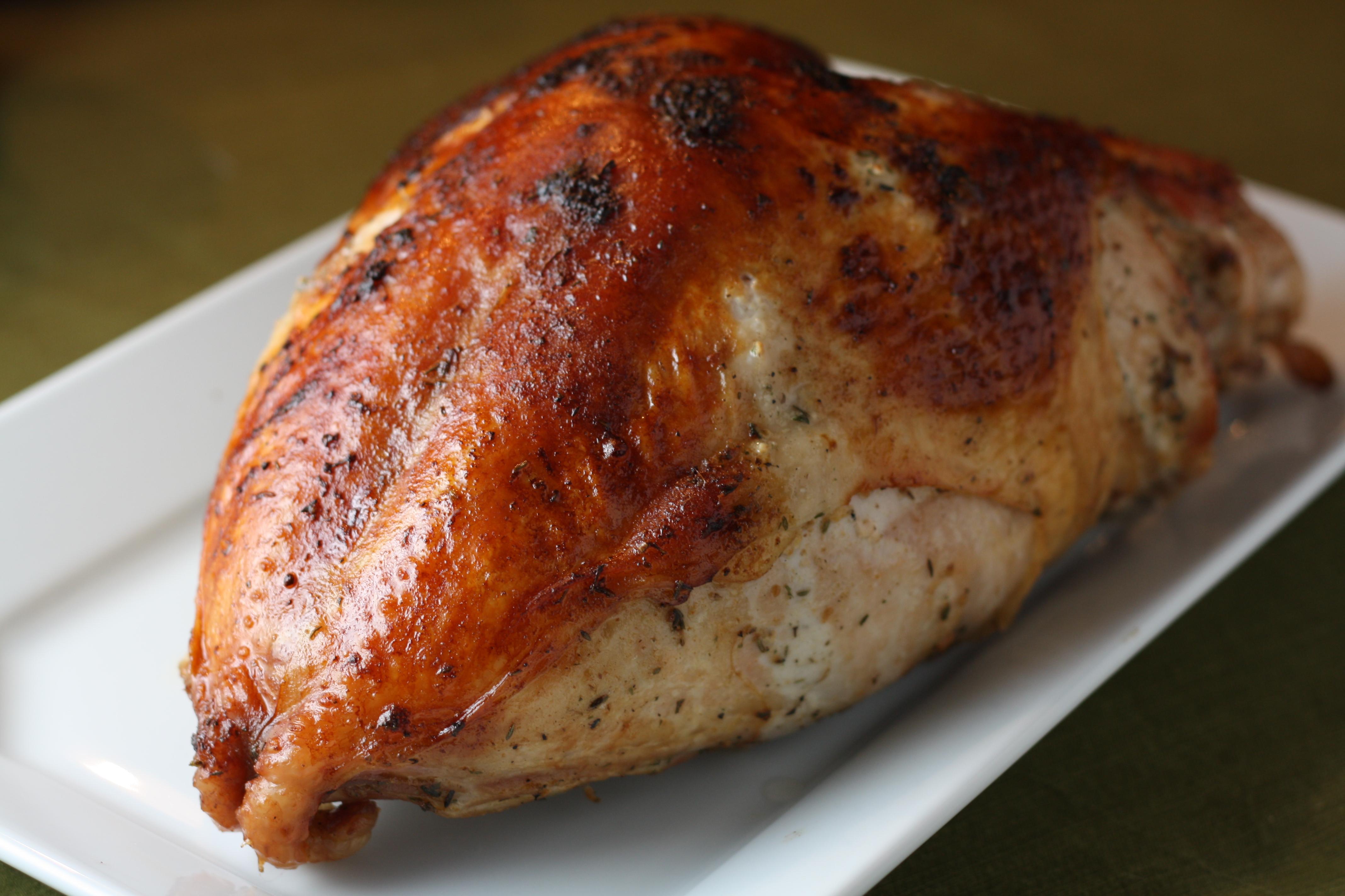 turkey roasting whole a breast