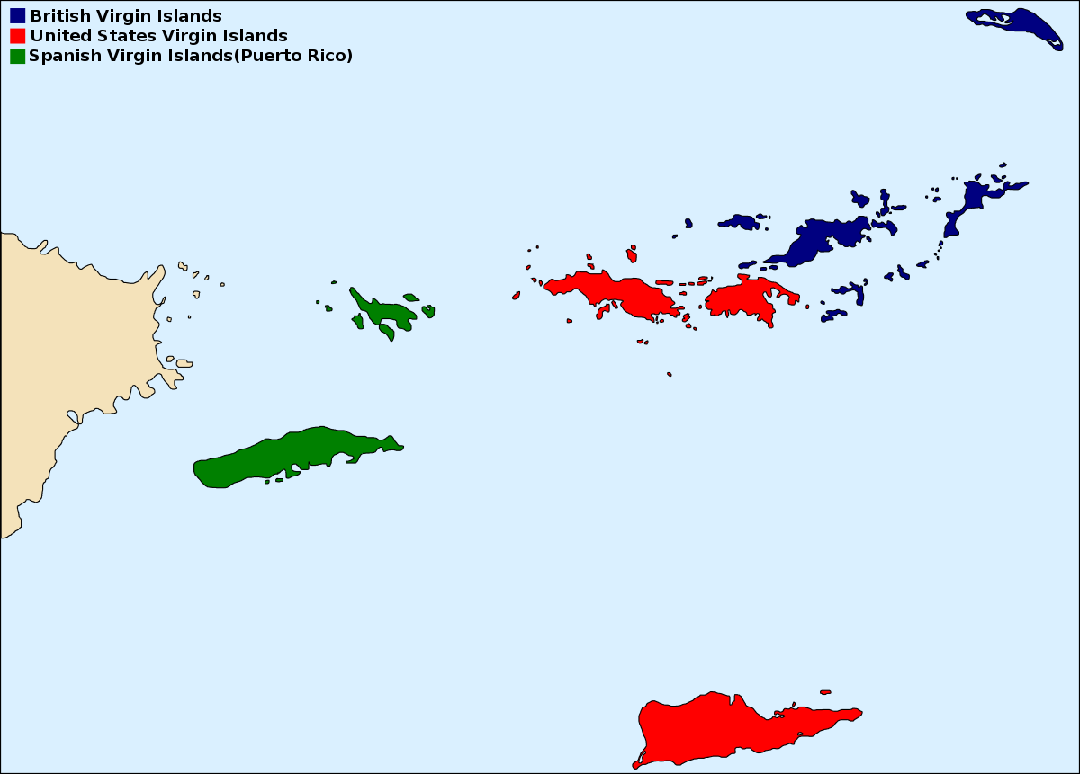 the history states united of islands virgin