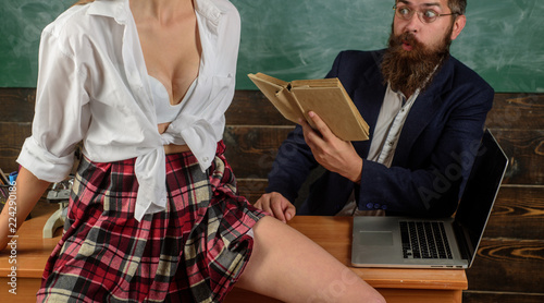 first sex lesson professor my
